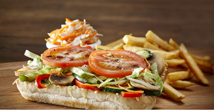 Mikes St-Jérôme offer succulents subs from the original recipe, pizzas made with our pizza dough who is prepared every day in restaurant, as well as some creamy pasta or gratin pasta.